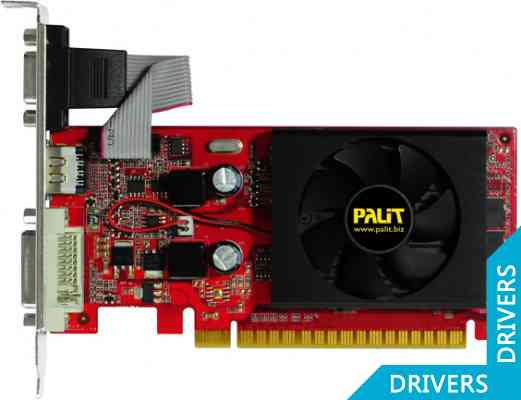 Видеокарта Palit GeForce 210 512MB DDR3 (NEAG2100HD53-1193F)