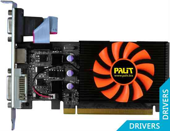 Видеокарта Palit GeForce GT 430 2GB DDR3 (NEAT4300HD41-1081F)