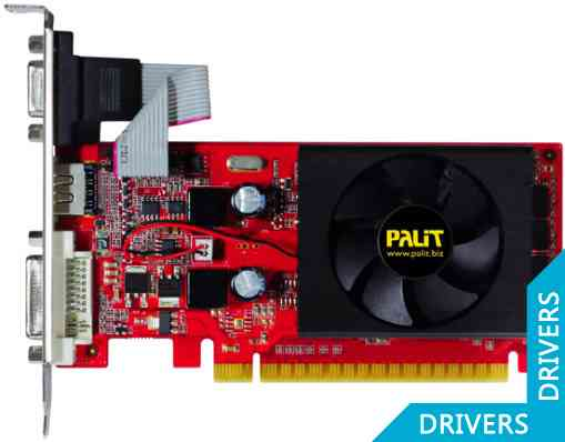 Видеокарта Palit GeForce 210 1024MB DDR3 (NEAG2100HD06-1193F)