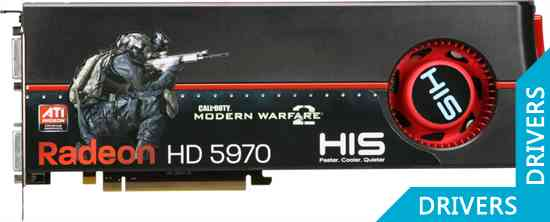 Видеокарта HIS HD 5970 2GB GDDR5 (H597F2GDC)