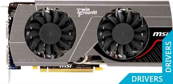 Видеокарта MSI N560GTX-Ti 448 Twin Frozr III Power Edition
