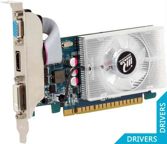 Видеокарта Inno3D GeForce GT 430 1024MB DDR3 (N430-1DDV-D3CX)