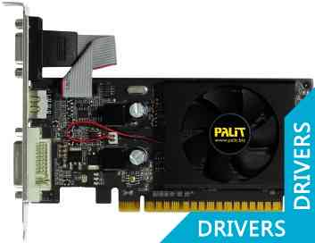 Видеокарта Palit GeForce 8400 GS Super 1024MB DDR3 (NEAG84S0HD06-1193F)