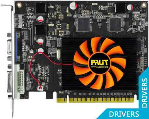 Видеокарта Palit GeForce GT 440 1024MB GDDR5 (NE5T4400HD01-1083F)