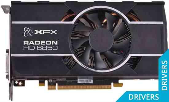 Видеокарта XFX HD 6850 1024MB GDDR5 (HD-685X-ZCFC)