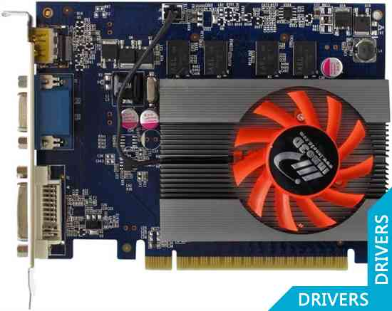 Видеокарта Inno3D GeForce GT 430 512MB DDR2 (N430-1DDV-C2CX)