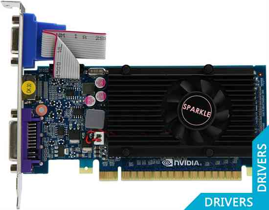 Видеокарта SPARKLE GeForce GT 520 2GB DDR3 (SXT5202048S3L-NM)
