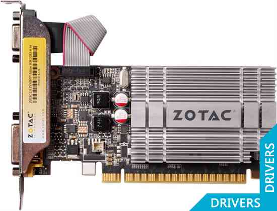 Видеокарта ZOTAC GeForce 210 Synergy 1024MB DDR3 (ZT-20313-10L)