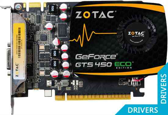 Видеокарта ZOTAC GeForce GTS 450 ECO 1024MB DDR3 (ZT-40508-10L)