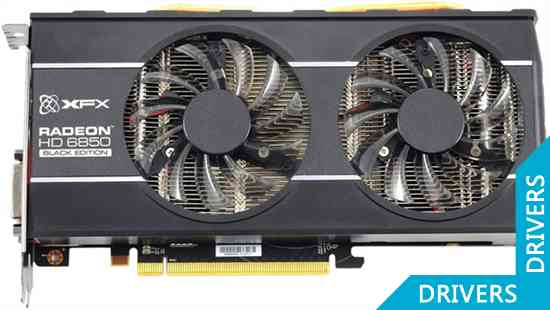 Видеокарта XFX HD 6850 Black Edition 1024MB GDDR5 (HD-685X-ZDBC)
