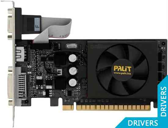Видеокарта Palit GeForce GT 520 2GB DDR3 (NEAT5200HD46-1193F)