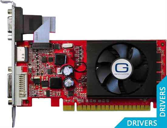 Видеокарта Gainward GeForce 8400 GS 512MB DDR3 (426018336-1640)