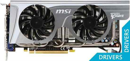 Видеокарта MSI GeForce GTX 465 1024MB GDDR5 (N465GTX Twin Frozr II)