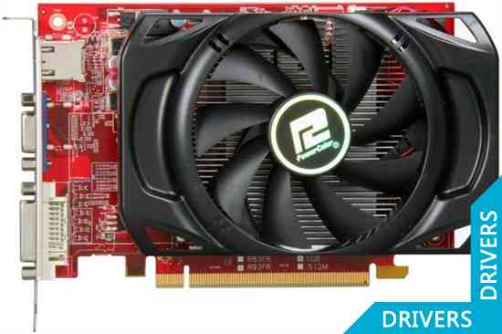 Видеокарта PowerColor HD 6670 1024MB GDDR5 (AX6670 1GBD5-H)