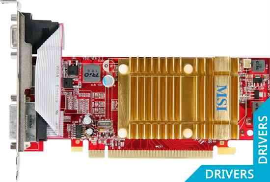 Видеокарта MSI HD 4350 512MB DDR2 (R4350-MD512H)