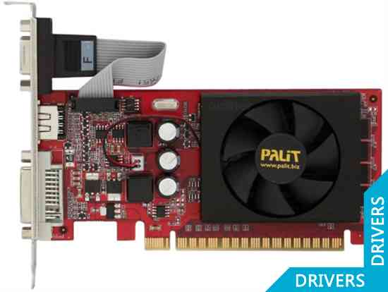 Видеокарта Palit GeForce GT 520 1024MB DDR3 (NEAT5200HD06-1193F)