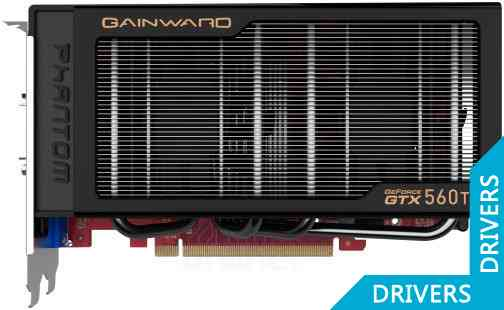 Видеокарта Gainward GeForce GTX 560 Ti Phantom 2GB GDDR5 (426018336-1848)