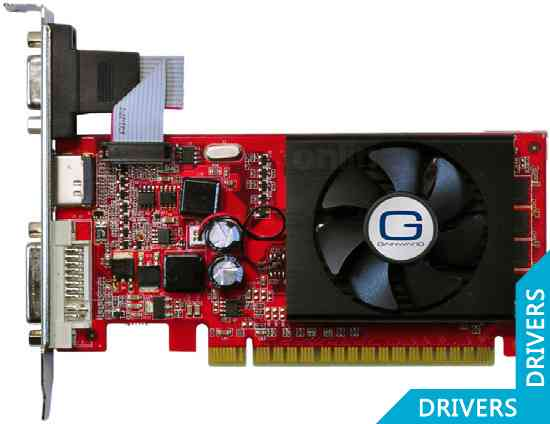 Видеокарта Gainward GeForce 210 1024MB DDR3 (426018336-1459)