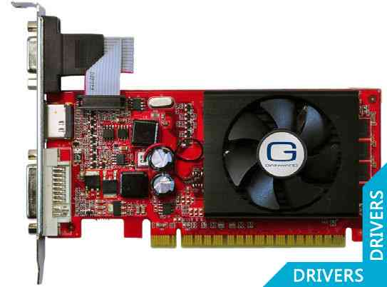 Видеокарта Gainward GeForce 8400 GS 1024MB DDR3 (426018336-1466)