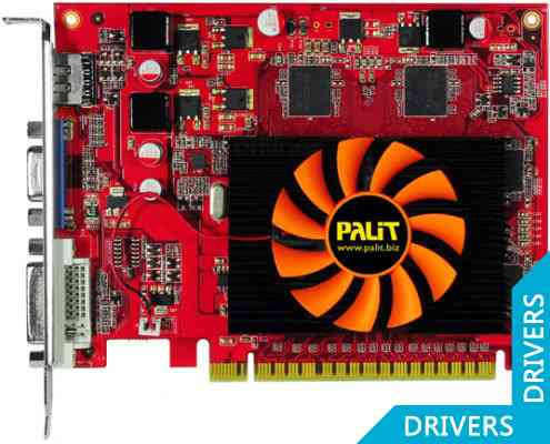 Видеокарта Palit GeForce GT 430 512MB GDDR5 (NE5T4300HD51-1083F)
