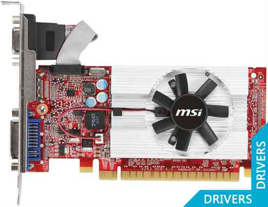 Видеокарта MSI N520GT-MD1GD3/LP