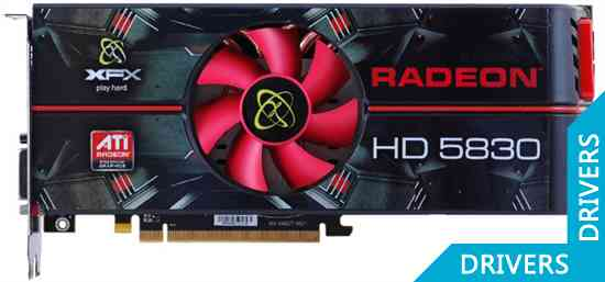 Видеокарта XFX Radeon HD 5830 1GB GDDR5 (HD-583X-ZAFC)