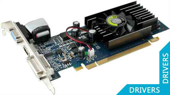 Видеокарта Point of View GeForce 210 512MB SDDR3 (R-VGA150927-D3)