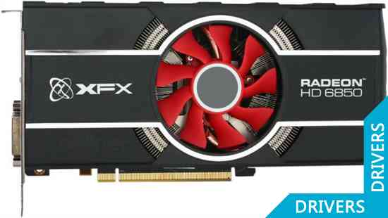 Видеокарта XFX Radeon HD 6850 1GB GDDR5 (HD-685X-ZNFC)