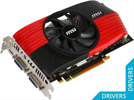 Видеокарта MSI GeForce GTS 450 1GB GDDR5 (N450GTS-M2D1GD5/OC)