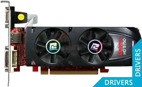 Видеокарта PowerColor HD5750 1GB GDDR5 Low Profile (AX5750 1GBD5-LH)