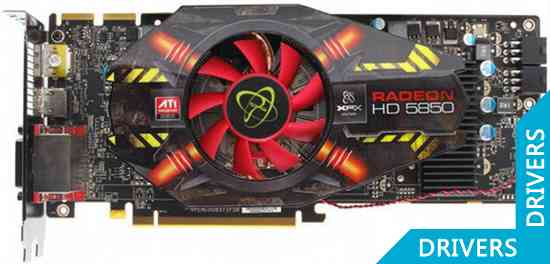 Видеокарта XFX Radeon HD5850 Black Edition (HD-585X-ZNBA)