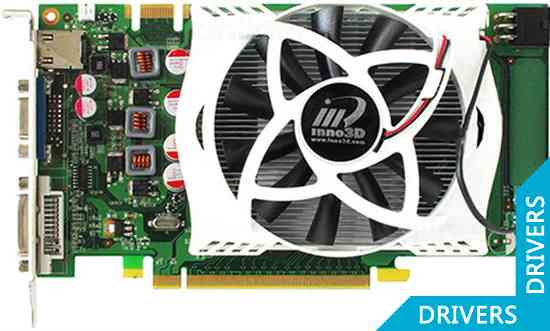 Видеокарта Inno3D Geforce GTS 250 Green 512MB DDR 3