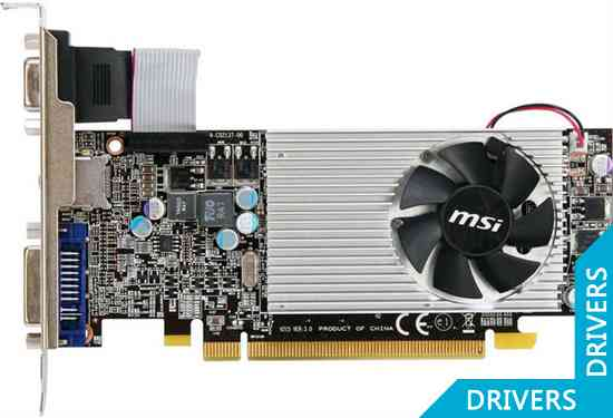 Видеокарта MSI Radeon HD 5550 1024MB (R5550-MD1G)