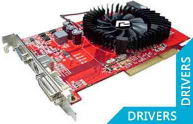 Видеокарта PowerColor Radeon HD3650 (AG3650 1GBD2-v2)