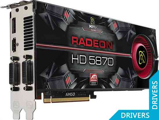 Видеокарта XFX Radeon HD 5870 1024 MB DDR5 DisplayPort (HD-587A-ZNFV)