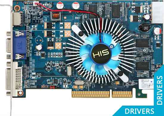 Видеокарта HIS HD 4650 1GB DDR3 AGP (H465F1GHA)