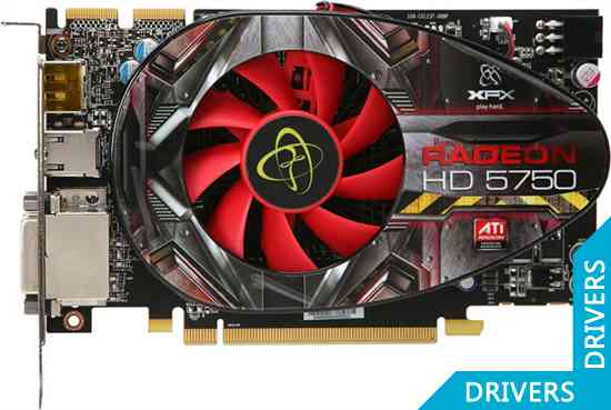 Видеокарта XFX Radeon HD 5750 1024 MB DDR5 DisplayPort XXX (HD-575X-ZNDC)