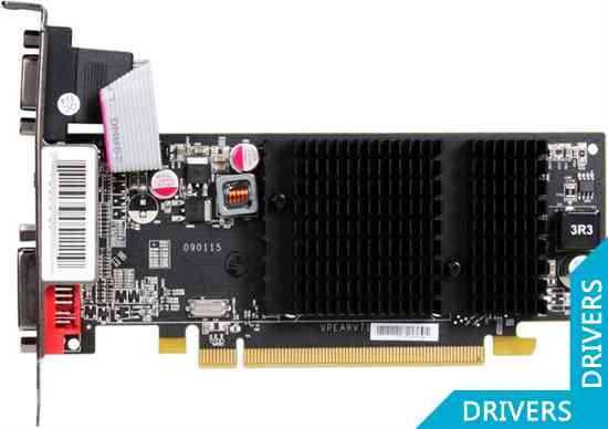 Видеокарта XFX Radeon HD 5450 512 MB DDR2 HDMI (HD-545X-YNH2)
