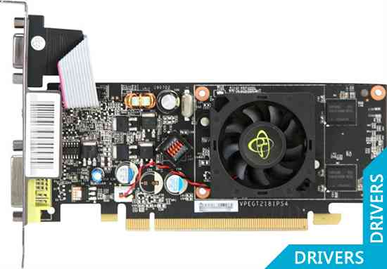 Видеокарта XFX GeForce G 210 512MB DDR2 HDMI (GT-210X-YNF2)