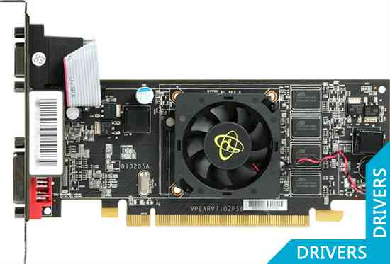 Видеокарта XFX Radeon HD 4550 1GB DDR2 (HD-455X-ZAH2)