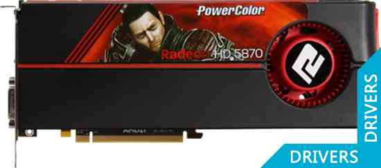 Видеокарта PowerColor HD5870 1GB GDDD5 (AX5870 1GBD5-MDH)
