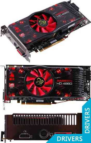 Видеокарта XFX Radeon HD 4860 512 MB DDR5 HDMI (HD-486X-YDFL)