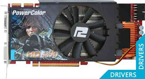 Видеокарта PowerColor Radeon HD4890 1GB (AX4890 1GBD5)