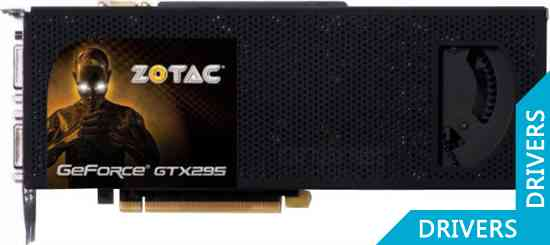 Видеокарта ZOTAC GeForce GTX 295 (ZT-295E3MB-FSP)