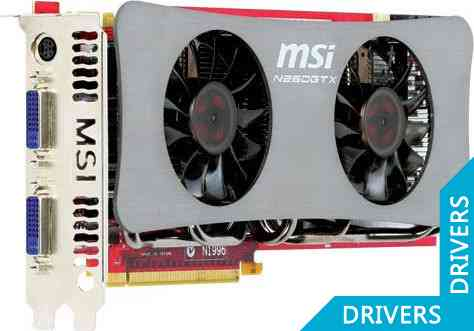 Видеокарта MSI GeForce N260GTX-T2D896